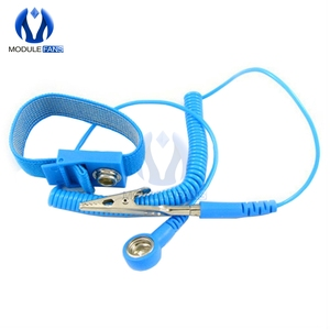 Cordless Wireless Clip Antistatic Anti Static ESD Wristband Wrist Strap Discharge Cables For Electrician IC PLCC worke
