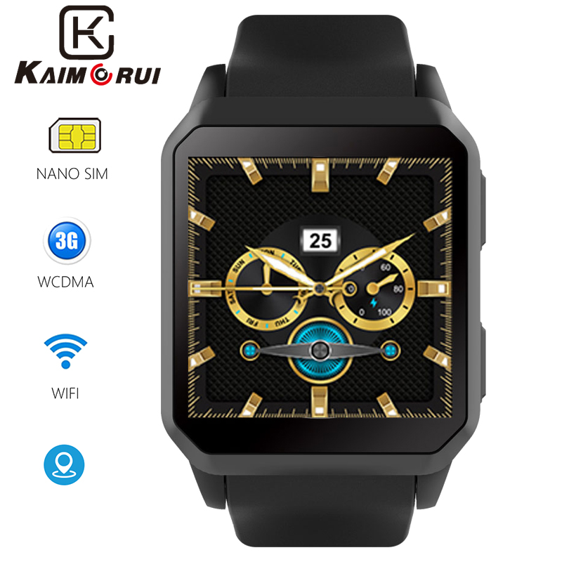 Smart Watch 3G Android Bluetooth Smartwatch IP68 Waterproof GPS WiFi Heart Rate Watch Phone Camera Watch for Xiaomi Huawei Phone