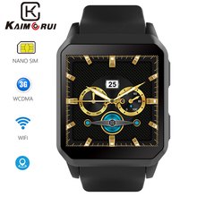 цена на Smart Watch 3G GPS Bluetooth Android Smartwatch SIM Card WiFi Heart Rate Monitor Sport Watch With Camera for Xiaomi Huawei Phone