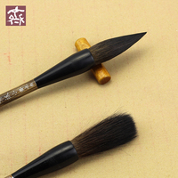 3Pcs Calligraphy Brushes Squirre Hair Chinese Calligraphy Brush Lian Brush Pen Calligraphy Set Painting Wrting Brush Stationery