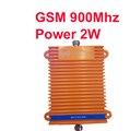 Gran potencia 2 w 33dBm ganancia 70dbi GSM 900 Mhz teléfono móvil amplificador de señal del repetidor de refuerzo GSM repetidor booster gran proyecto de uso