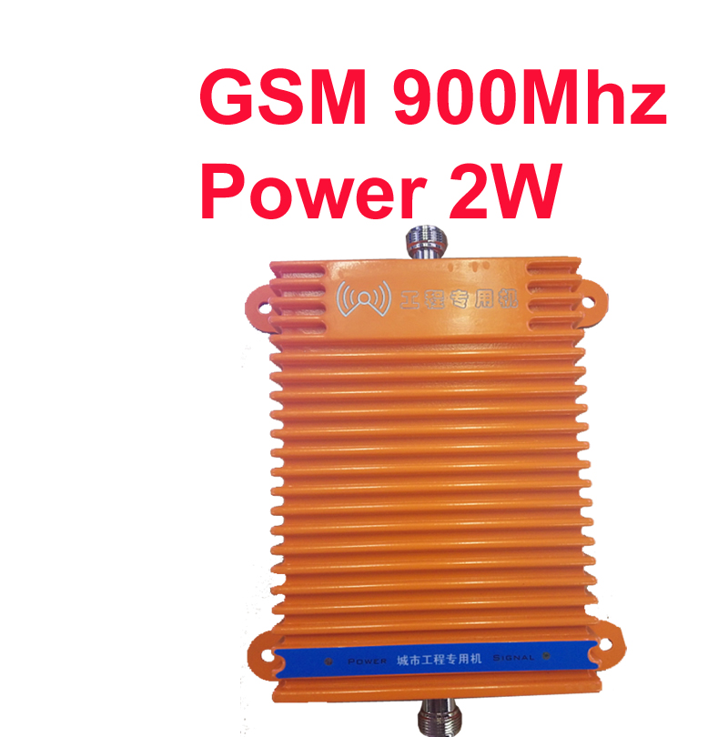 gain 70dbi big power 2w 33dBm GSM 900Mhz booster mobile phone signal booster repeater GSM repeater booster big project use-in Signal Boosters from Cellphones & Telecommunications    1