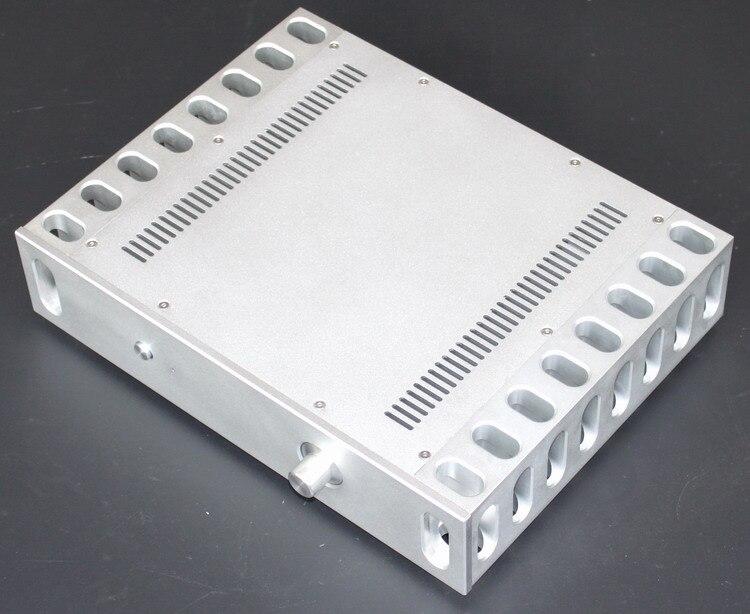 D-083 CNC Todos Os Chassis De Alumínio Caixa Caso Gabinete para DIY Amplificador de Potência de Áudio de 325mm * 430mm * 92mm 325*430*92mm