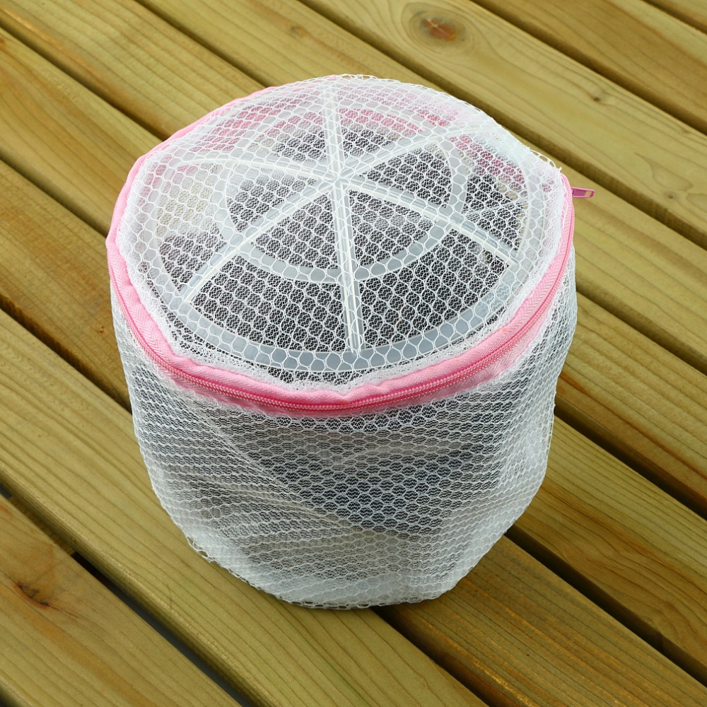 Laundry Wash Bags Zippered Mesh Foldable Lingerie Bra Socks Underwear Washing Machine Clothes Protection Net 120X150mm