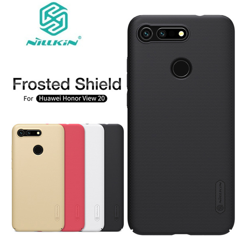 For Huawei Honor View 20 V20 Case Cover NILLKIN Frosted Shield PC Hard Back Case For Huawei Honor V20 cover phone case shell