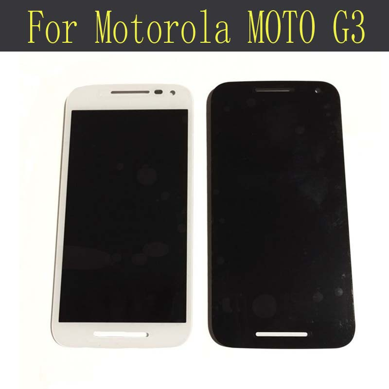LCD Display For Motorola MOTO G3 G 3rd Gen xt1544 xt1550 xt1540 XT1541 XT1543 with Screen Touch Digitizer Assembly