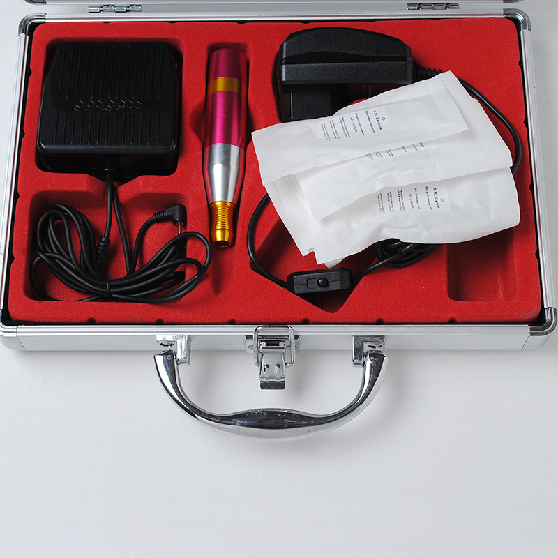 цены Digital Tattoo Machines SET Permanent Makeup Eyebrow Lip Body Pen Tattoo Machine Kit