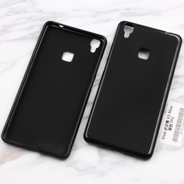 best cheap abd53 55e03 US $1.99 |For BBK Vivo V3Max Case 5.5'' Black Soft Silicone TPU Gel Phone  Back Capa Cover for BBK Vivo V3 Max Case Fundas Accessories-in Half-wrapped  ...