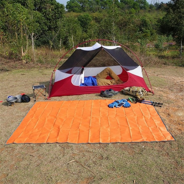 Waterproof Outdoor C&ing Tarp Picnics Mat Blanket Tent Footprint Sun Shelter for Outdoor Activities C&ing Beach & Waterproof Outdoor Camping Tarp Picnics Mat Blanket Tent Footprint ...
