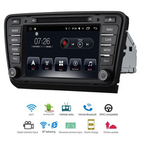 Car Multimedia player 2 Din Android 7.1 Car DVD For VW/Volkswage Skoda Octavia A7 2013 2014 8 2G/16G touch screen Car Radio GPS
