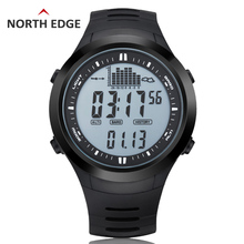 Wholesale prices NORTHEDGE Men Digital watches outdoor watch clock Fishing weather Altimeter Barometer Thermometer Altitude Climbing Hiking hours