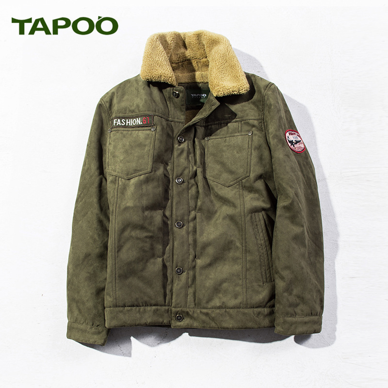 2017 Brand New Winter Jacket Men Coat Male Parka Men Thick Warm Wool Liner Jaqueta Masculino Winter Parka Hombre Plus Size M-3XL стоимость