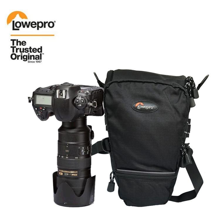 ホット販売ロープロ Toploader 75 AW ポータブル三角形バッグ Toploader 75 AW カメラバッグレンズ一眼レフパッケージバッグでカバー  グループ上の 家電製品 からの カメラ / ビデオ バッグ の中 1
