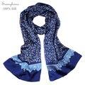 Foulard Demme Soie De Marque Brand Designer Silk mens Scarf Fashion 100% Satin silk Shawls and Scarves Double faced Silk Cape