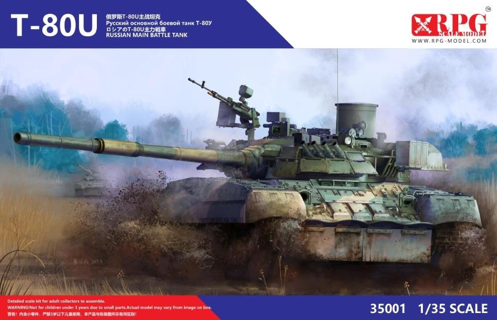 HOT SALE] Trumpeter 05581 1:35 Russian T 80BVD Main Battle Tank