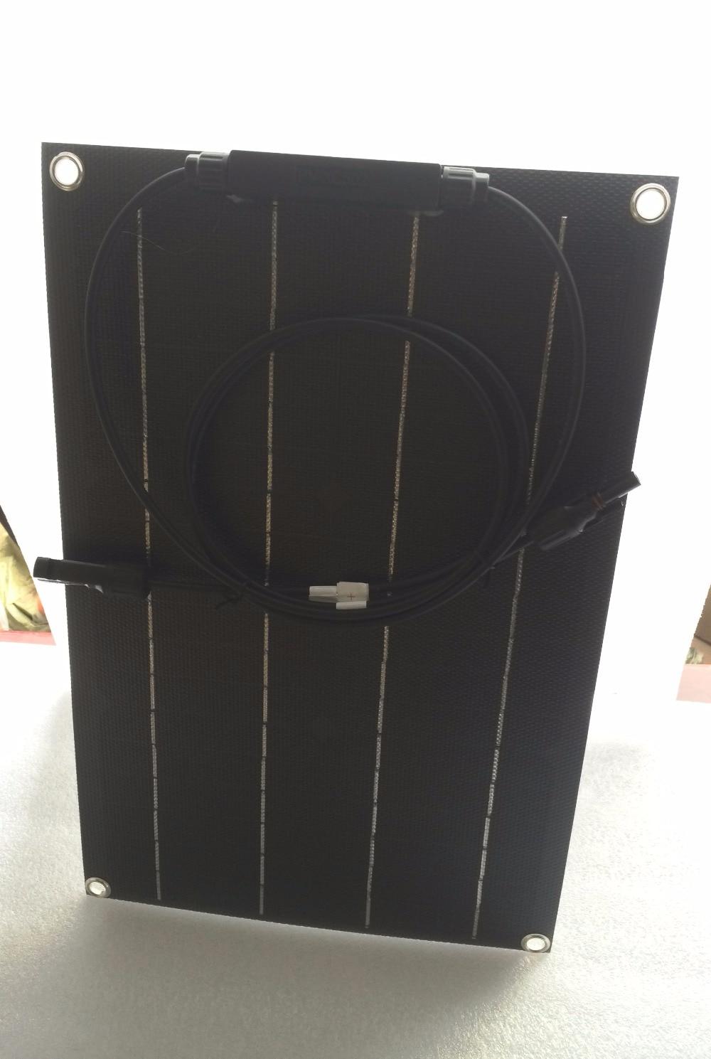 Aliexpress Com Buy Newly Black Etfe Flexible Solar Panel