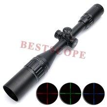 Leapers UTG Tactical Optyczny Sight Luneta 3-9X40 AOE Czerwony Zielony Niebieski lllumination z Osłoną Przeciwsłoneczną Hunting Rifle Scope