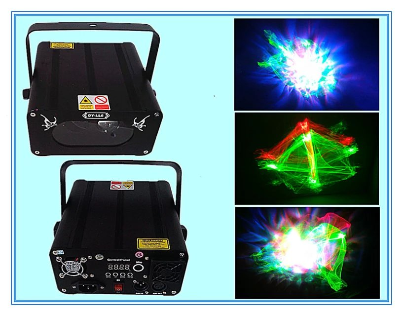 Best Selling New Arrival 9W 6pcs leds RGB KTV Super Magic Mini Laser Light Disco Laser