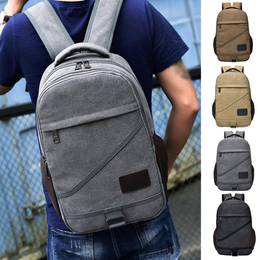 maison Backpacks new high quality Canvas Casual Neutral Backpack School Travel Student Laptop Bag backpack women 2018MA25