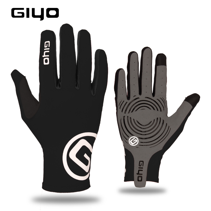 Cycling <font><b>Gloves</b></font> Men Women <font><b>Bike</b></font> Shockproof Breathable Motorcycle MTB <font><b>Mountain</b></font> Bicycle <font><b>Gloves</b></font> Full Half Finger Anti Slip <font><b>Gel</b></font> Pad image