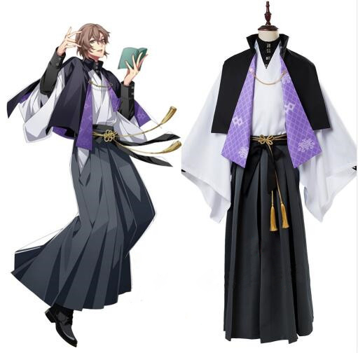 Division Rap Battle Cosplay Gentaro Yumeno Costumes DRB Cosplay Hypnosis Mic Fling Posse Phantom Cosplay Costume Custom Made