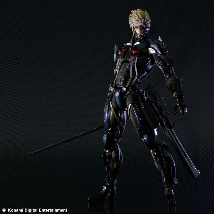 Square Enix Metal Gear Rising Revengeance metal gear solid:rising Play Arts Kai figurine Raiden WF082