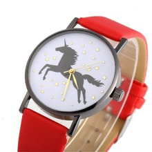 women quartz watch Flying wild horse, fashion sports luxury ladies watc