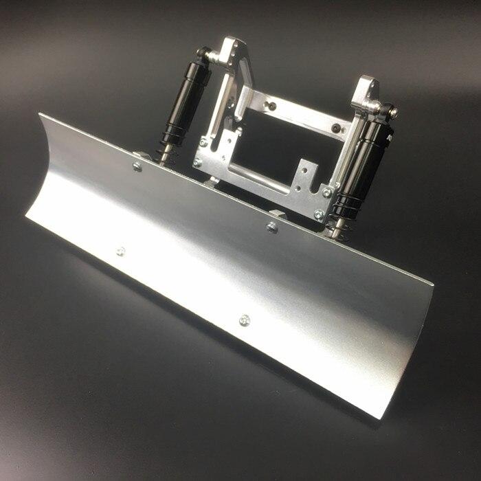 Pelle à neige en alliage de CNC pour Traxxas TRX4 TRX 4 TRX-4 1/10 SCX10 Scx10-ll 90046 90047 DYI télécommande RC chariot élévateur pelle en métal