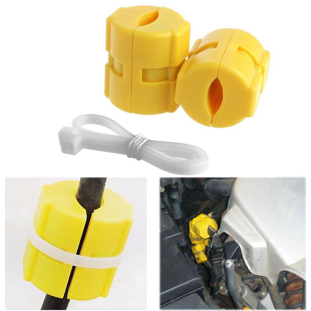 2PCS Usefu Magnetic Gas Fuel Power Saver For Car Vehicle Reduce Emission Car Magnet Energy Fuel Saver Gasoline Assisting Tools
