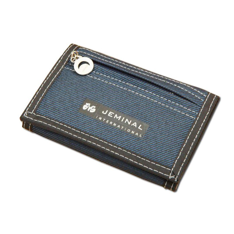 1pc Causal Style Boy's Canvas Wallet Shos