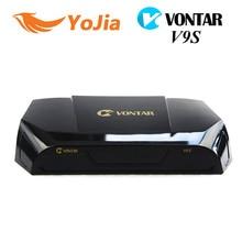 10 unid [Original] VONTAR V9S DVB-S2 HD Receptor de Satélite Soporte 2 xUSB Miracast USB Previsión Meteorológica CCCAMD NEWCAMD Wifi Set Top Box