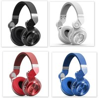 100 Original Fashion Bluedio T2 Wireless Bluetooth 4 1 Stereo Headphones Noise Headset With Mic High
