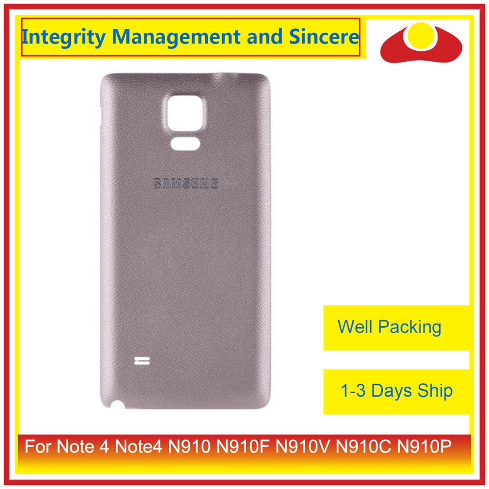 Image 4 - 10Pcs/lot For Samsung Galaxy Note 4 Note4 N910 N910F N910V N910C N910P Housing Battery Door Rear Back Cover Case Chassis Shell-in Mobile Phone Housings & Frames from Cellphones & Telecommunications