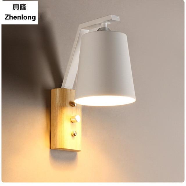 Wandlamp Slaapkamer nachtkastje woonkamer wandlamp bed lamp trap ...