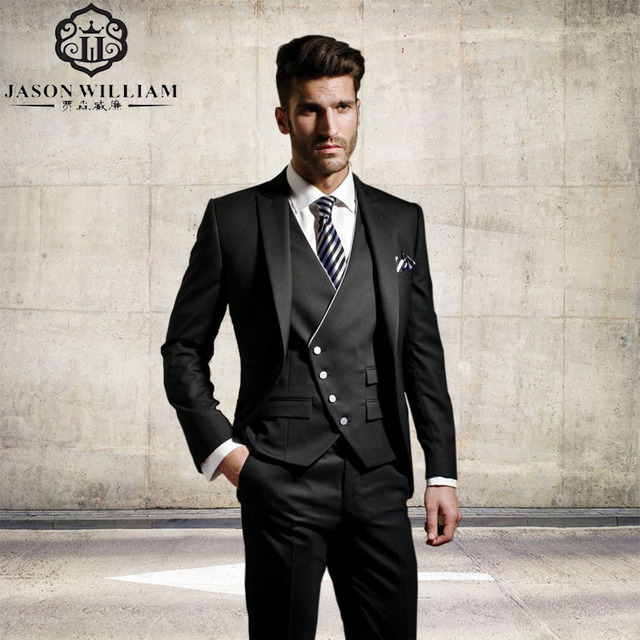 Aliexpress.com : Buy LN131 Custom Made Groom Formal suit Wedding ...