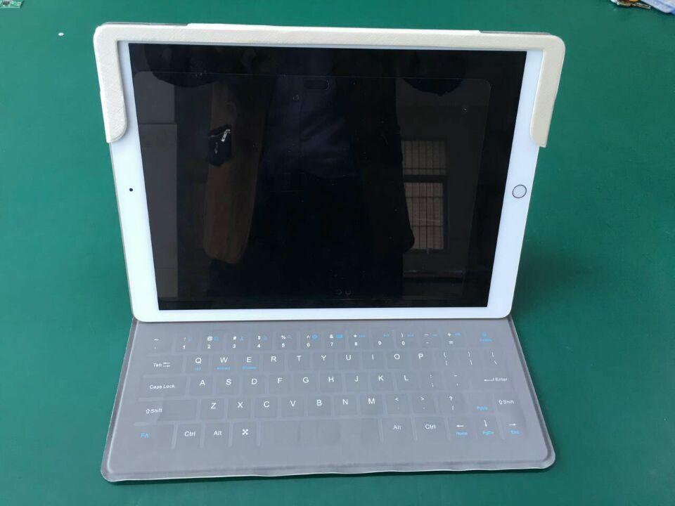 Étui en cuir pour clavier Bluetooth Ultra-mince pour tablette PC apple ipad pro 12.9 pouces pour étui pour clavier apple ipad pro 12.9 pouces