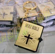200pcs mini bible keychain