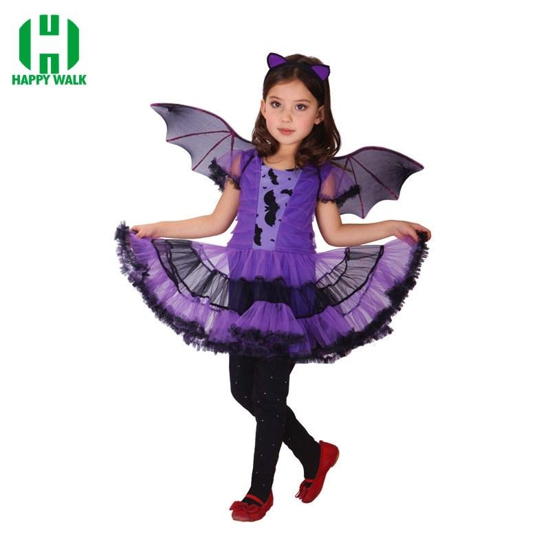 Halloween 2020 Disfraces Batman 2020 New Arrivel Batman Girls Halloween Costume for Kids Fancy