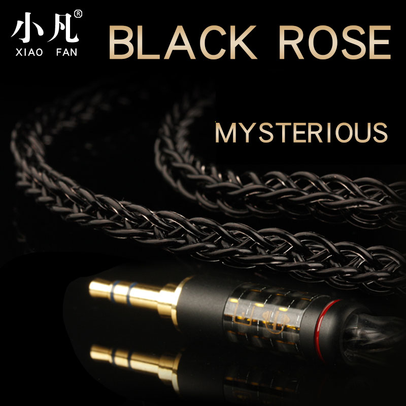 Xiao Fan AE05 single crystal copper earphone upgrade line se846qdc Andromeda ue18ie80 headphone wire DIY