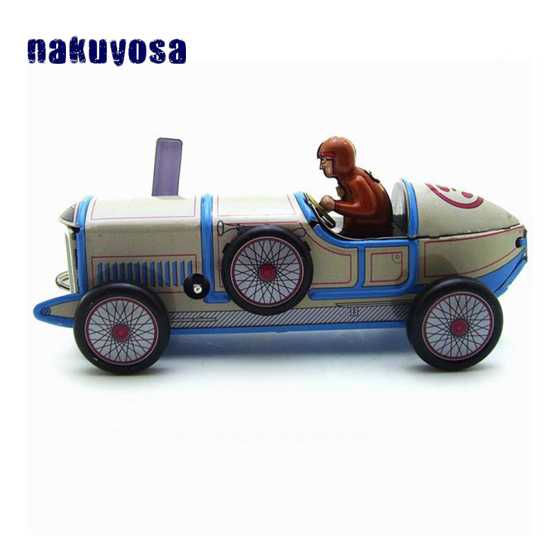 Simulation Vintage Racing Car Adult Collection Retro Wind ...