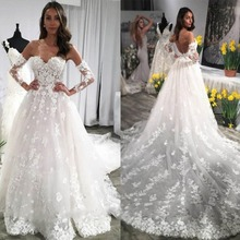 kejiadian Arabic Wedding Dresses a-line Bride Dresses