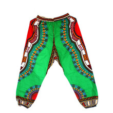 Traditional African Pants Clothing Dashiki Print Trouser-Design Women for And