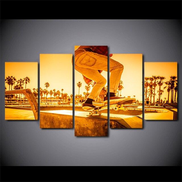 Amazing Skateboard Wall Art Frieze - Wall Art Design ...
