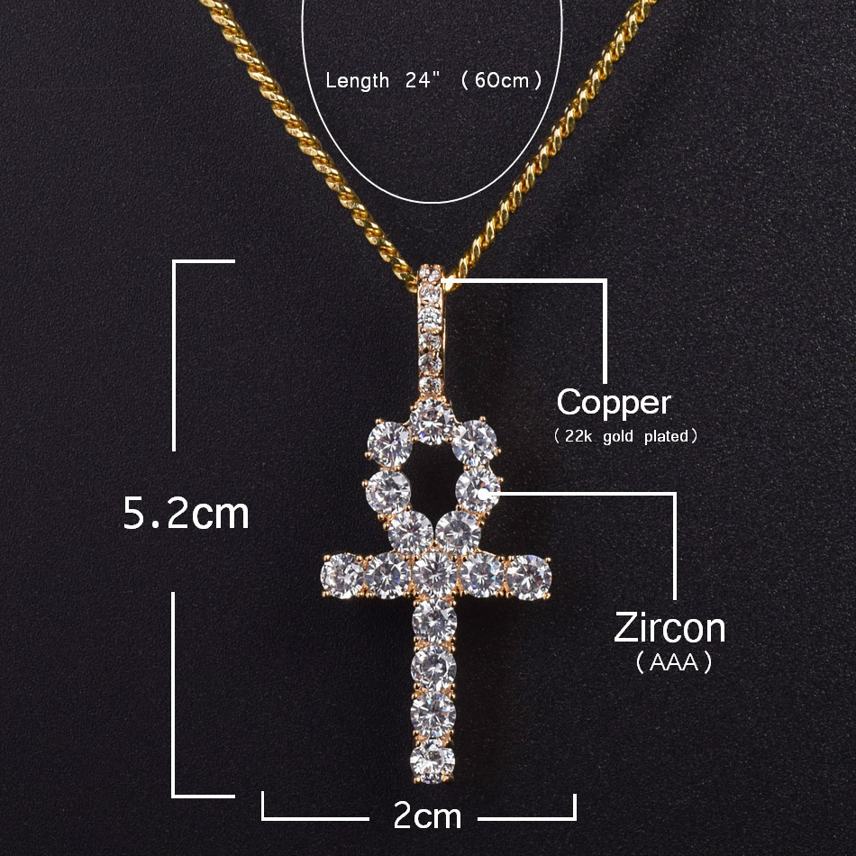 Fashion 21 Egyptian Micro King Pharaoh in Pyramid Pendant 18,20,24,27 Various Chain Necklace in Gold Tone