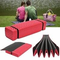 Outdoor Camping Mat Ultralight Foam Picnic Mat Folding Egg Slot Beach Mat Tent Sleeping Pad Moistureproof