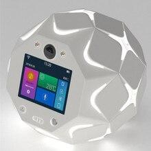 Smart Bluetooth Speaker Remote APP Wireless WiFi Camera TF Card MP3 Player Stereo LED Light Audio Voice Broadcast Alarm Clock 4 стоимость