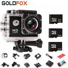Outdoor HD 720P Sports DV Mini Camera HD 30M Waterproof Helmet Bike Car CAM