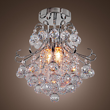 AC110V-220V LED Modern Crystal Chandelier Ceiling Lamp Lights, Lustres De Cristal,Lustre De crystal Free Shipping
