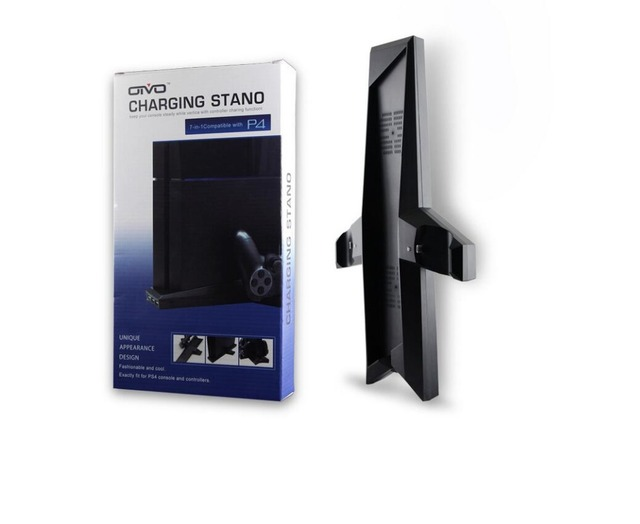 2016 New Dual Charger PS4 Vertical Cooling Station Stand with Dual Controller Charging Dock