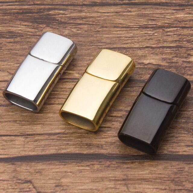 Bán Hàng giá sỉ 2 cái/bộ Lỗ kích thước 12X6mm Inox không Nhiễm Từ Nút Kết Nối TỰ LÀM Vòng Tay Trang Sức Làm Cho Những Phát Hiện